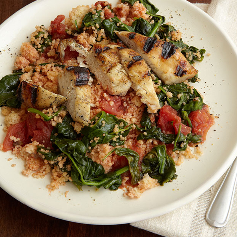 Photo of Couscous with turkey and vegetables. by WW