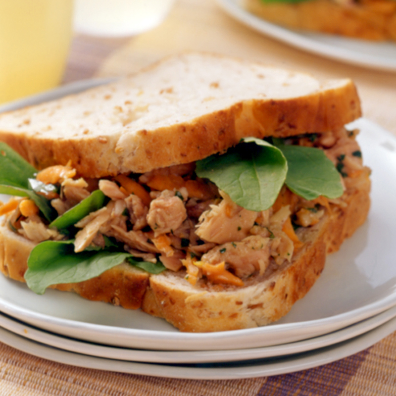 Photo of Lemony tuna sandwich by WW