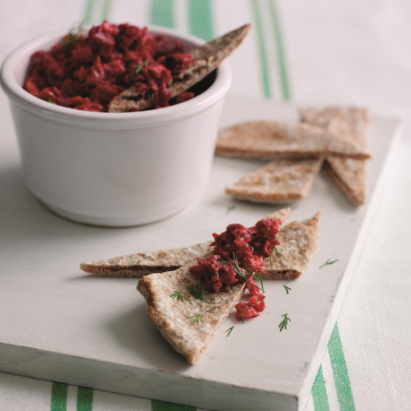 Photo of Beetroot Houmous. by WW