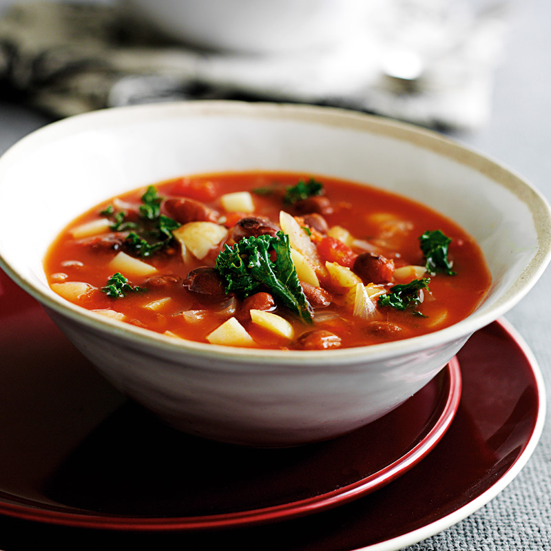 Photo of Kale and bean soup by WW