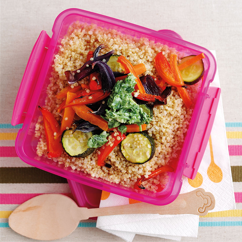 Photo of Roast veg with quinoa by WW
