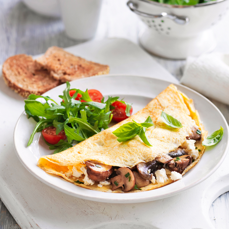 Photo of Mixed mushroom omelette by WW